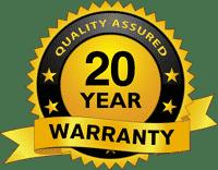 Bull Barn 20 year quality assured warranty