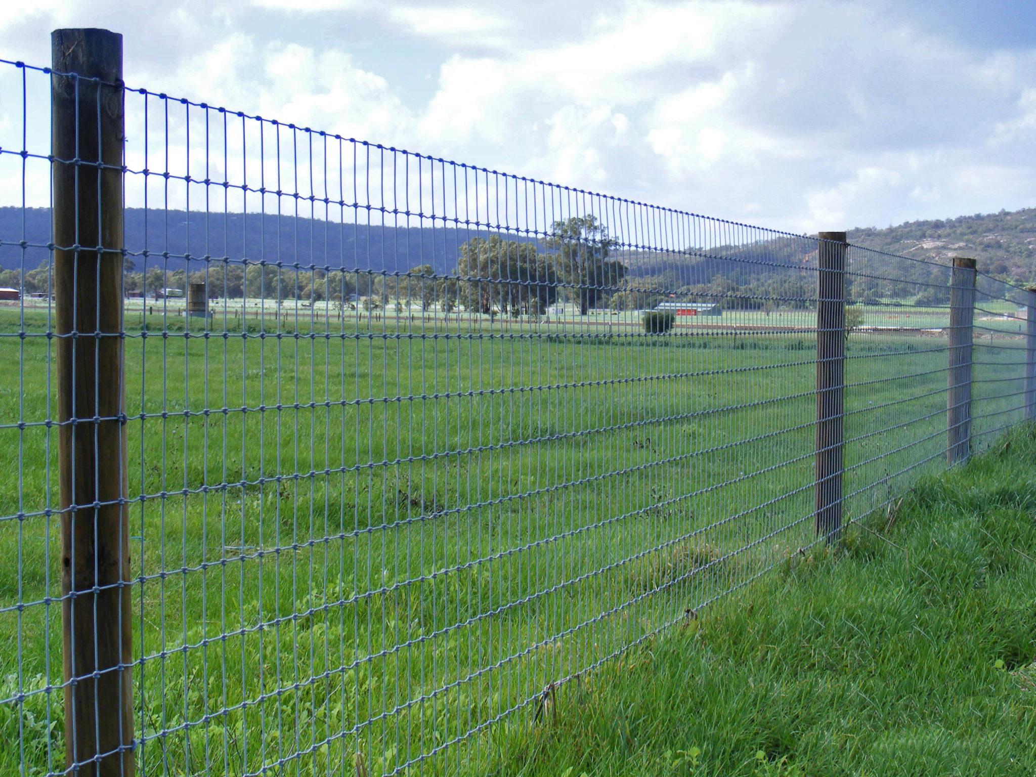Bull Barn S-Knot fence