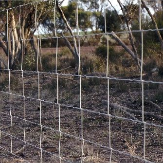 hinged joint fence